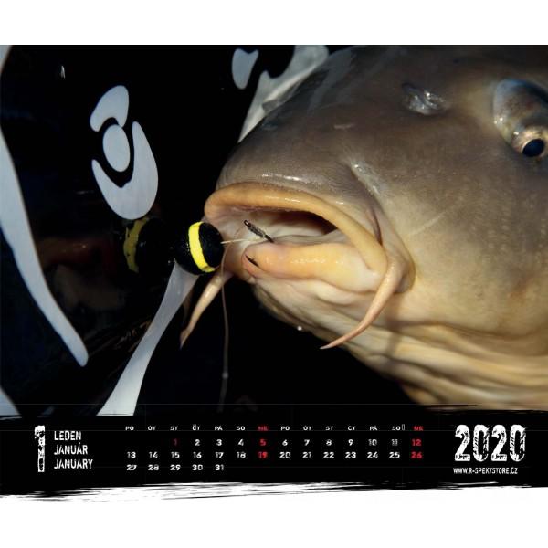 R-SPEKT Nástěnný kalendář 2020