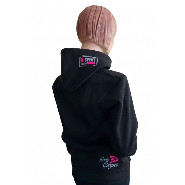 R-SPEKT Mikina s kapucí Lady Carper black