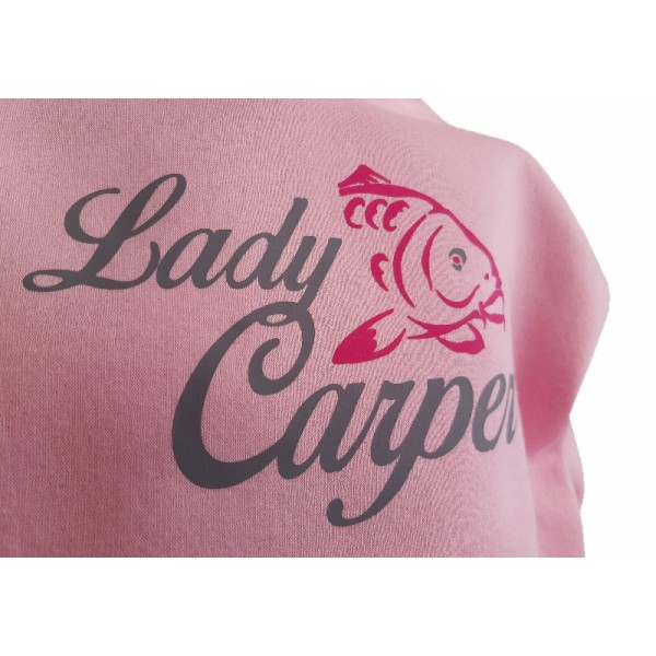 R-SPEKT Dětská mikina s kapucí Lady Carper pink