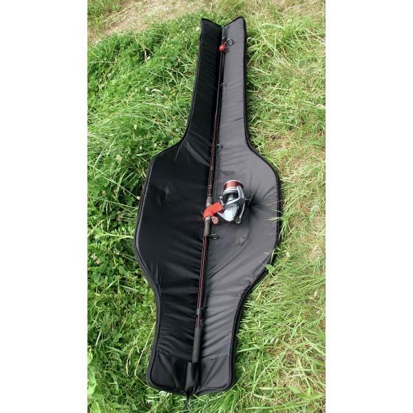 R-SPEKT Single 12´ polstrované khaki pouzdro na prut