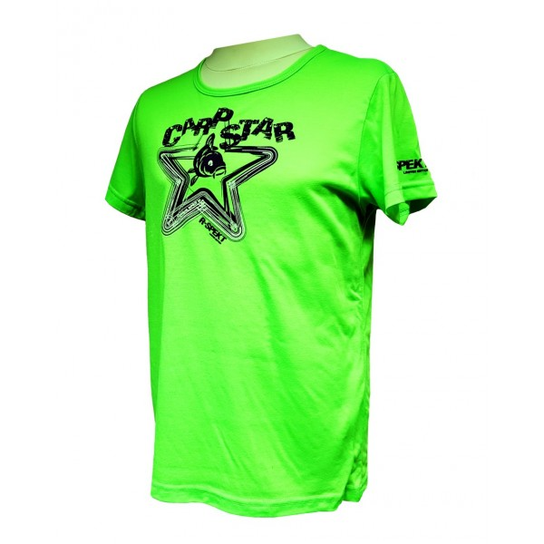 Dětské tričko R-SPEKT CARP STAR fluo green