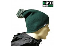 Kulich pompom DUO beanie style zelený