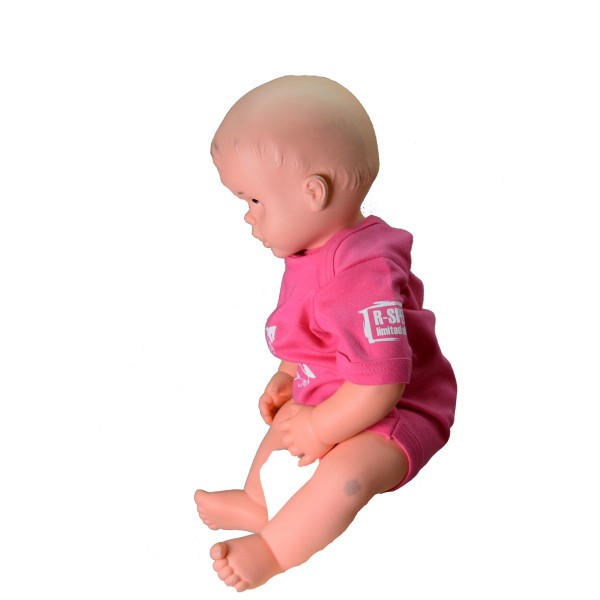 Baby body R-SPEKT Carp friend pink