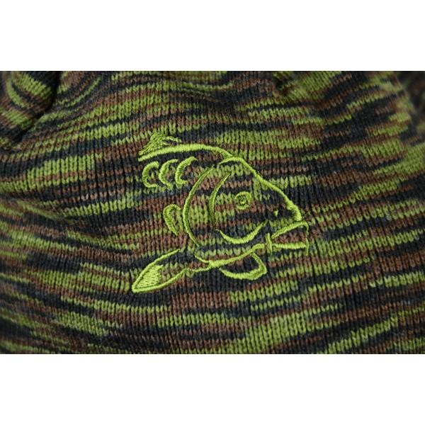Čepice s kšiltem R-SPEKT Peaked beanie camou