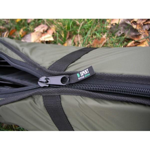 R-SPEKT Triple 12´ polstrované khaki pouzdro na 3 pruty