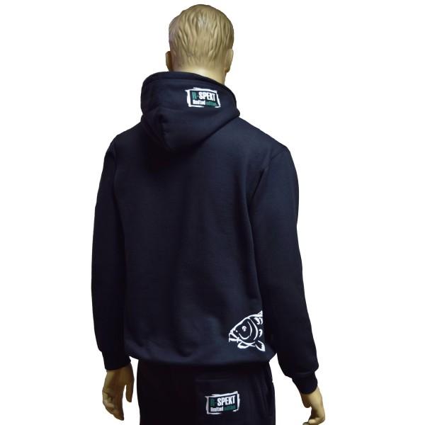 Mikina s kapucí R-SPEKT Carper black