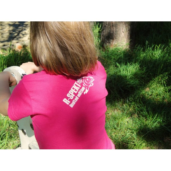R-SPEKT Dětské tričko Carper Kids růžové