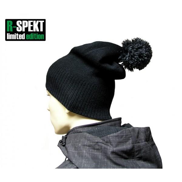 Kulich pompom DUO beanie style černý