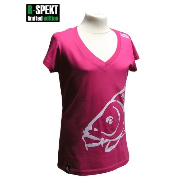 R-SPEKT Tričko Lady Carper růžové