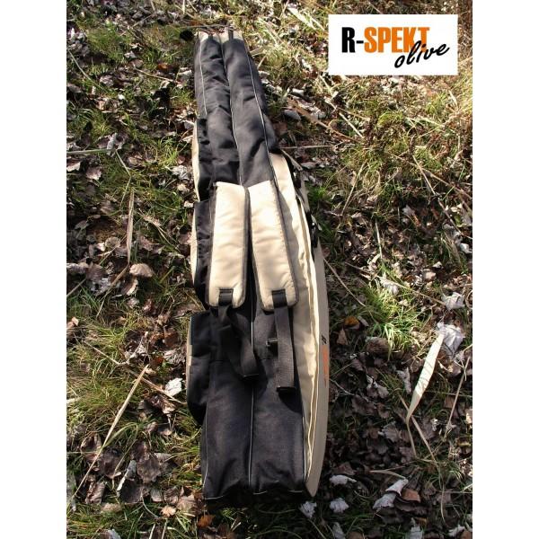 R-SPEKT 120cm 2komorové pouzdro na rybářské pruty