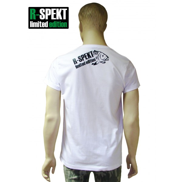 R-SPEKT Tričko Carper bílé