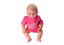 R-SPEKT Baby body Carp friend pink