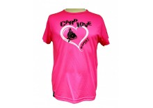 Dětské tričko R-SPEKT CARP LOVE fluo pink