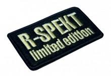 R-SPEKT limited edition nášivka černá 70mm