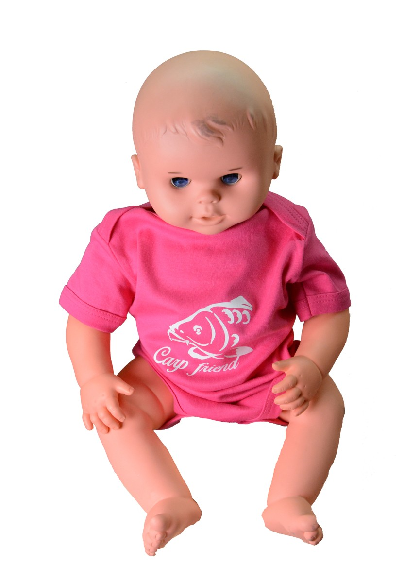 Baby body R-SPEKT Carp friend pink